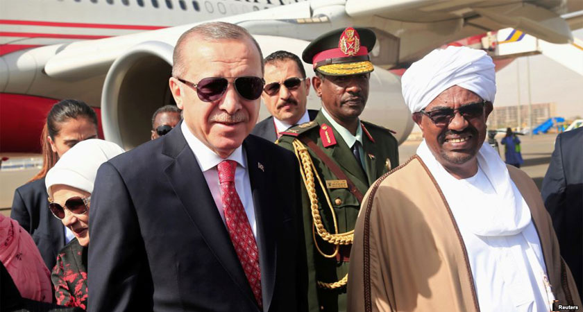 Turkey will rebuild a naval dock in Sudan to maintain civilian and military vessel.