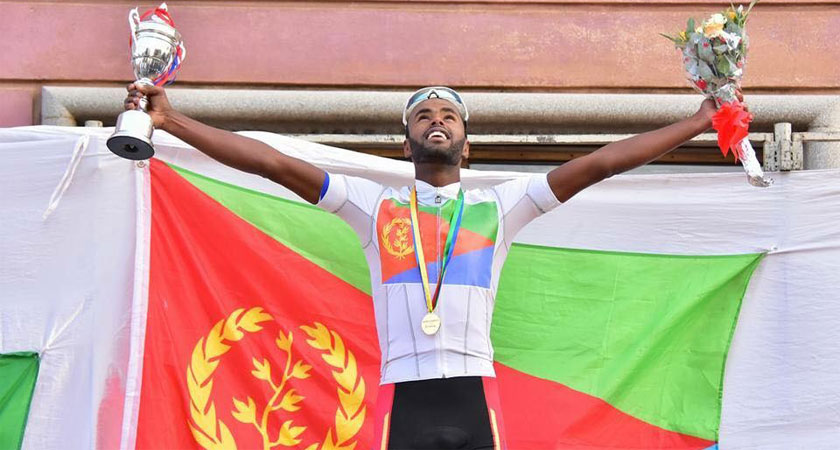 Eritrean National Champion Meron Abraham to Join Bike Aid