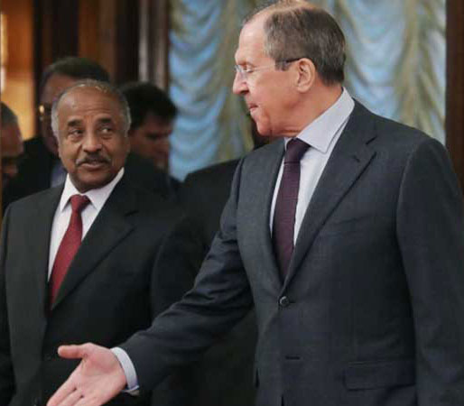 Eritrea and Russia warm up their relation