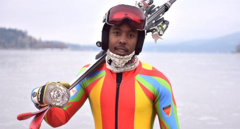 Shannon Abeda, Eritrea's First Winter Olympian