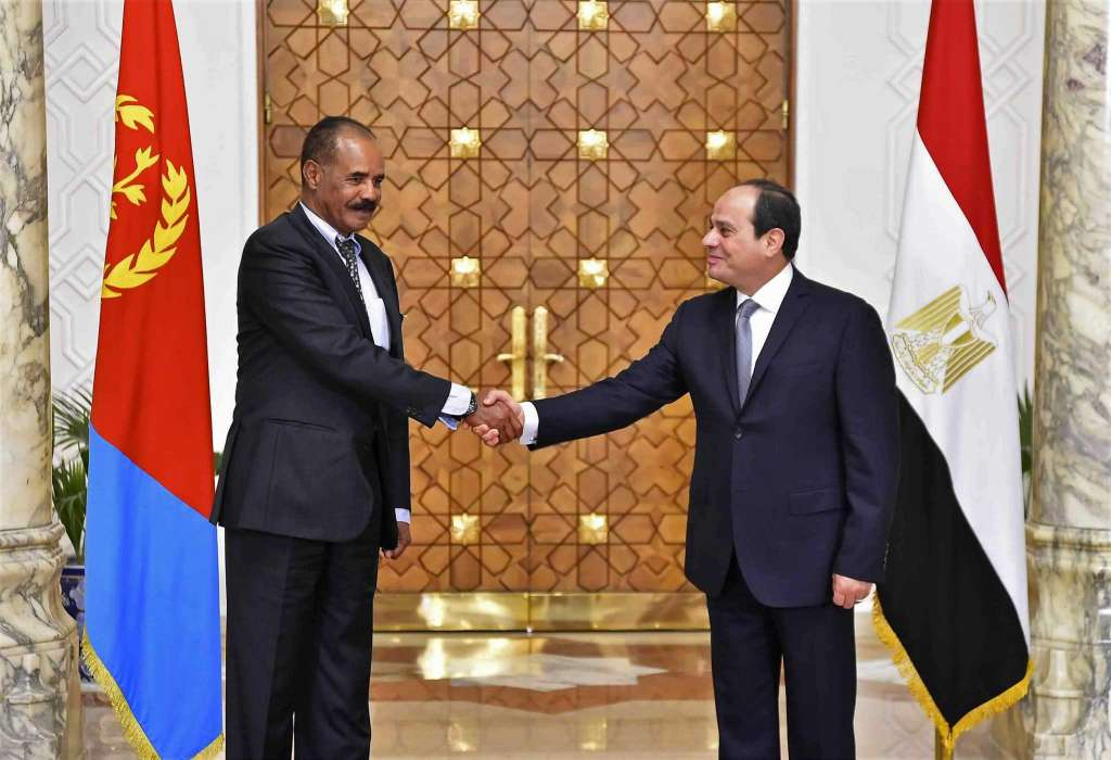 President Isaias Afwerki Egypt visit
