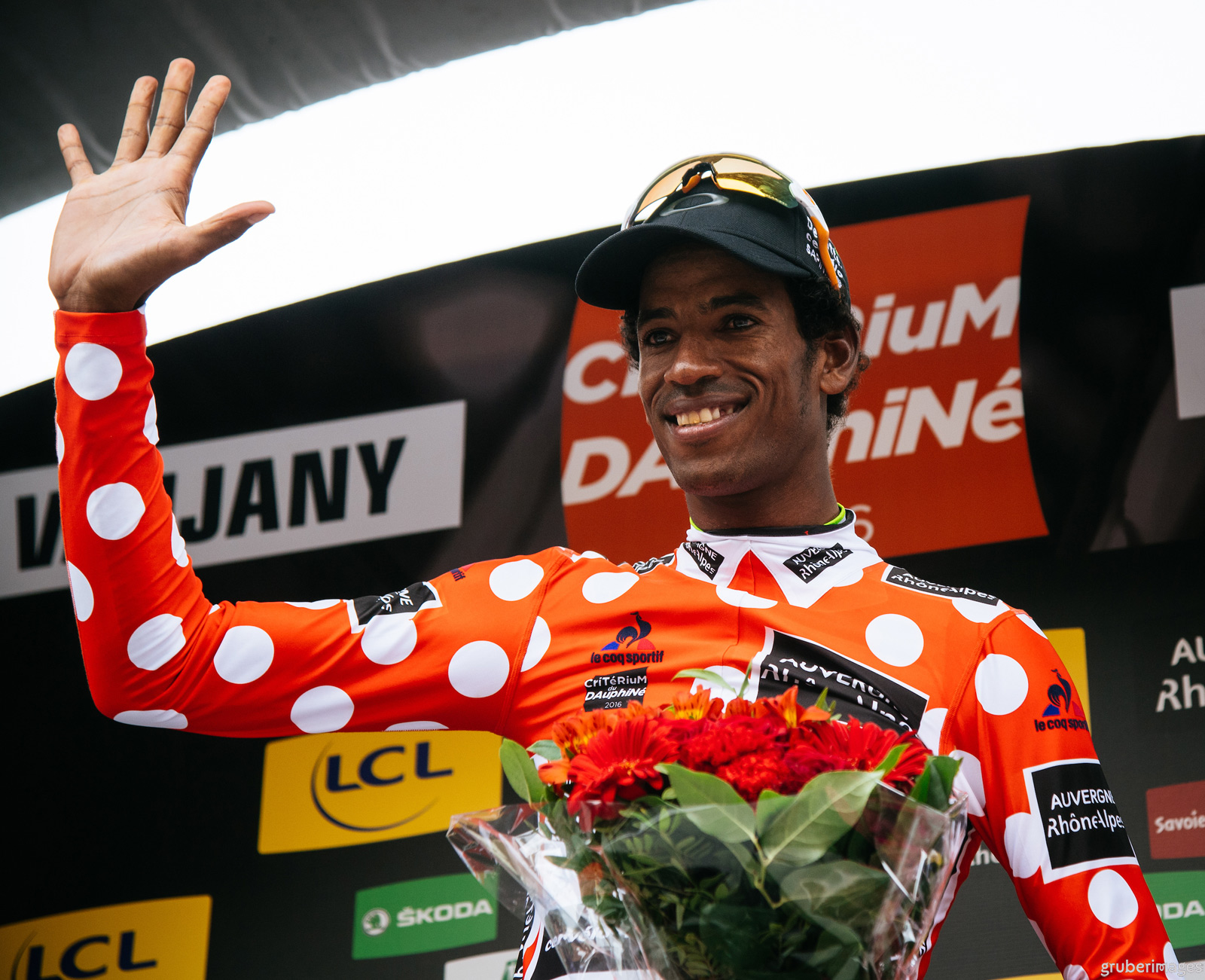 Daniel Teklehaimanot won the King of Mountains classification for two consecutive year at the Criterium du Dauphine
