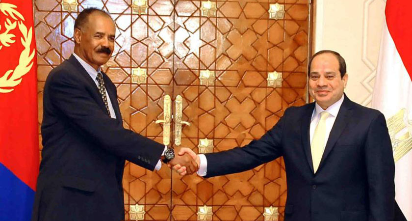 Eritrea and Egypt Presidents to Meet in Cairo