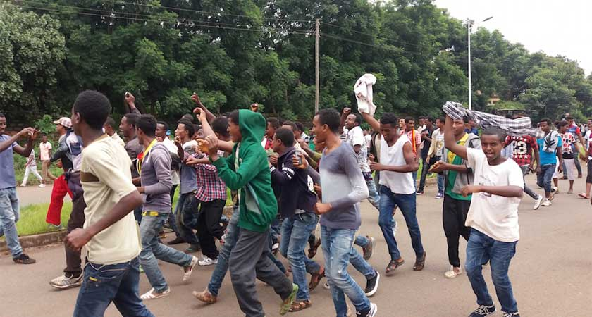 Protests and Killings Paralyse Ethiopia's Oromia