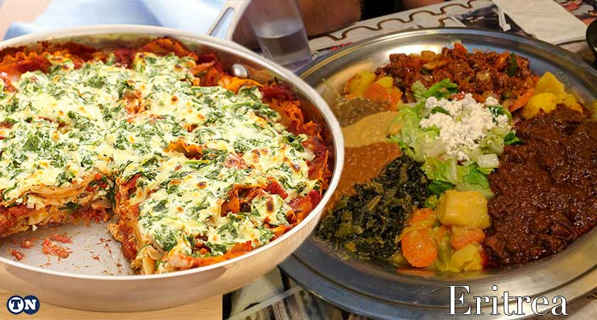 After Italian occupation, Eritreans reclaimed the layered dish lasagna as their own