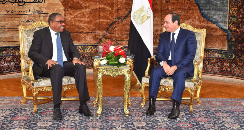 Egypt, Ethiopia Leaders say Nile Dam Must Not Ruin Relations