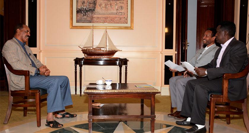President Isaias Afwerki interview on Sudan, Ethiopia, Somalia, Egypt and Turkey