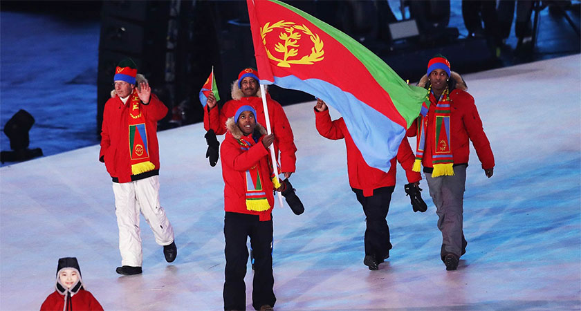 Eritrea is making its debut at this year's PyeongChang Winter Olympic Games