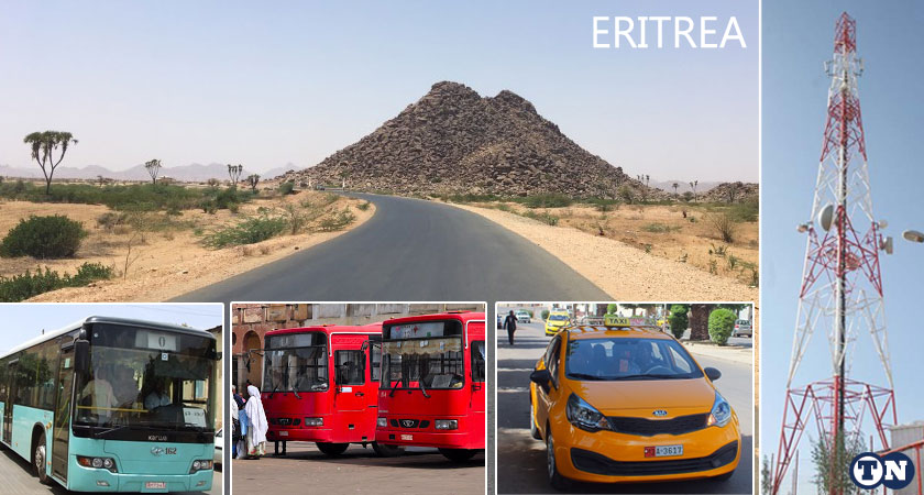 Connecting Eritrea with Transport and Communication System