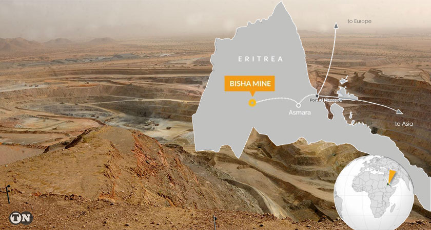 Nevsun Extends Mine Life at Bisha Until 2022