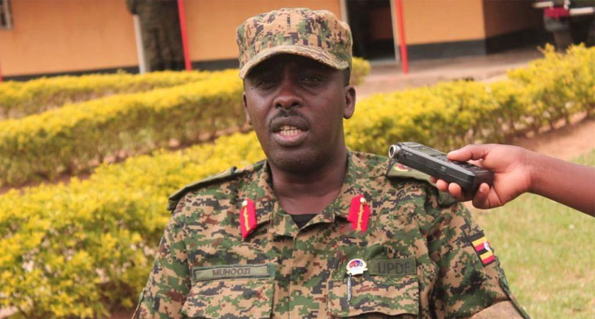 Uganda army chief says his troops are stuck in Somalia
