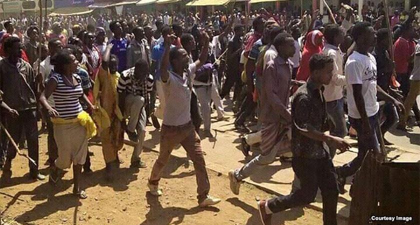 Ethiopians Protest MIDROC Gold Mining License Renewal