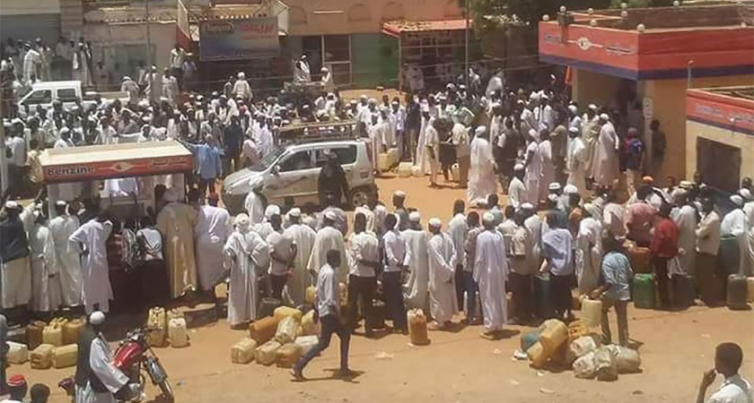 cookinggas and fuel crisis bites across Sudan