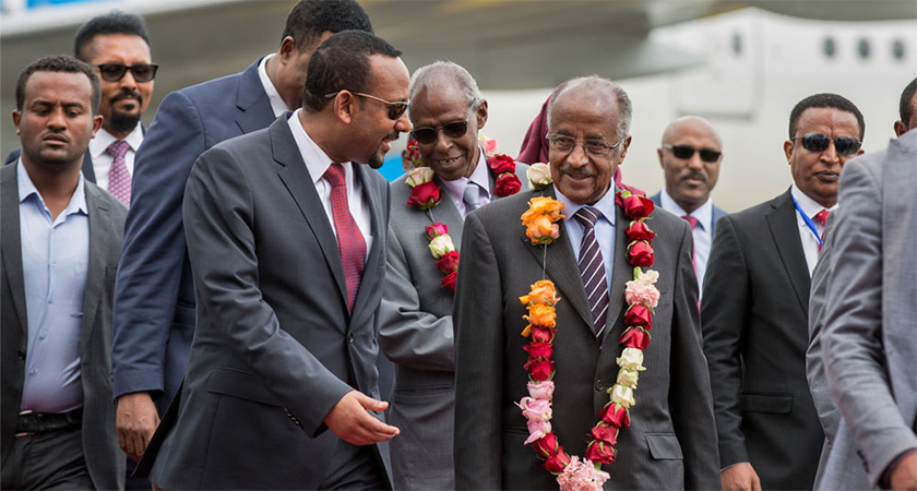 Eritrean Delegation Arrived in Ethiopia