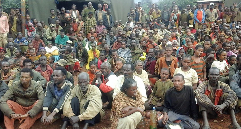 An upsurge of inter-communal violence and insecurity in Ethiopia displaced more than 2 million people