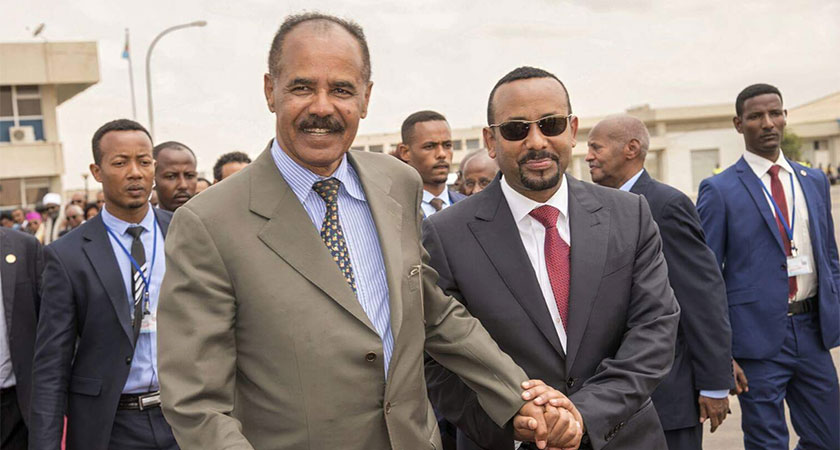 The Ethiopian army pledged to move its troops stationed at areas bordering Eritrea