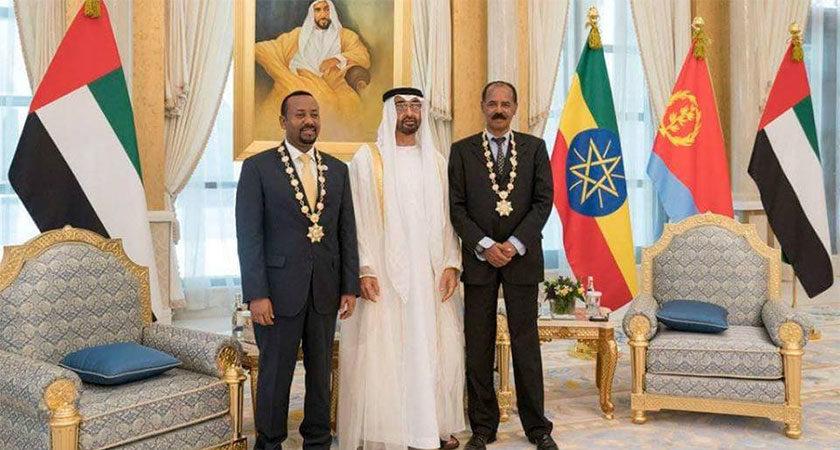 Leaders of Eritrea and Ethiopia Received UAE's Highest Honour