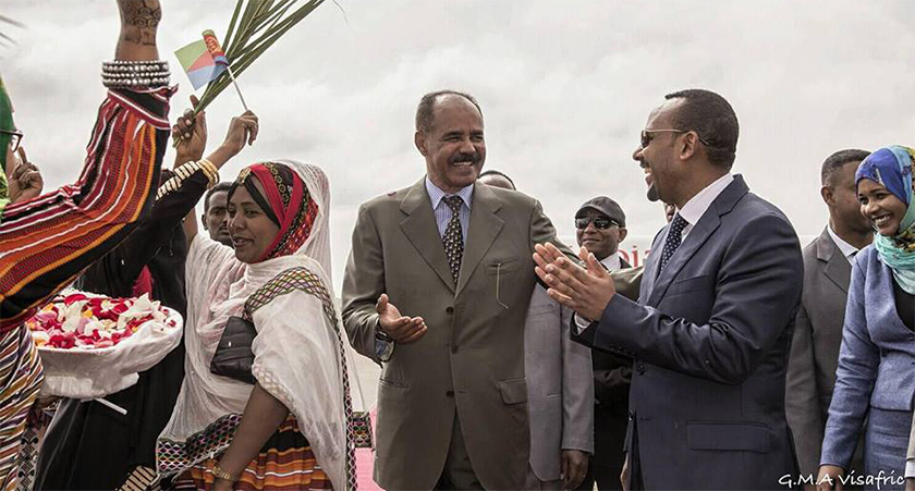 Eritrea and Ethiopia are united by the presence of a still-potent mutual enemy: the Tigrayan People's Liberation Front (TPLF)