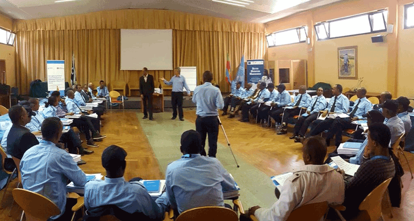 UNODC Trained Eritrean Police on Countering Trafficking and Smuggling of Migrants