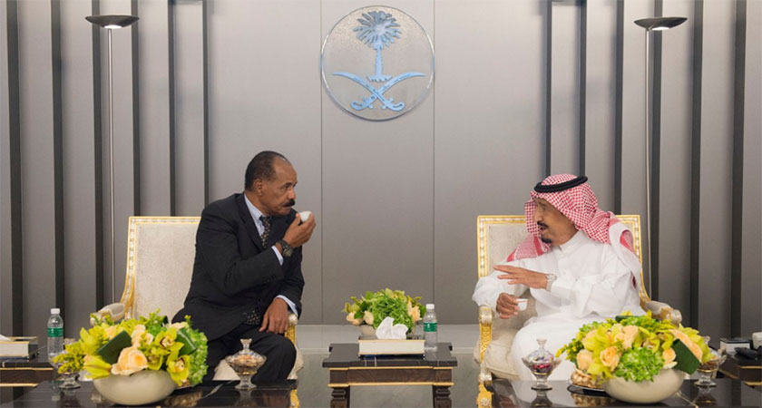 President Isaias Afwerki Arrives in Saudi Arabia for Working Visit
