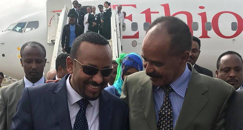 Ethiopia and Eritrea Leaders Held Historic Meeting in Asmara