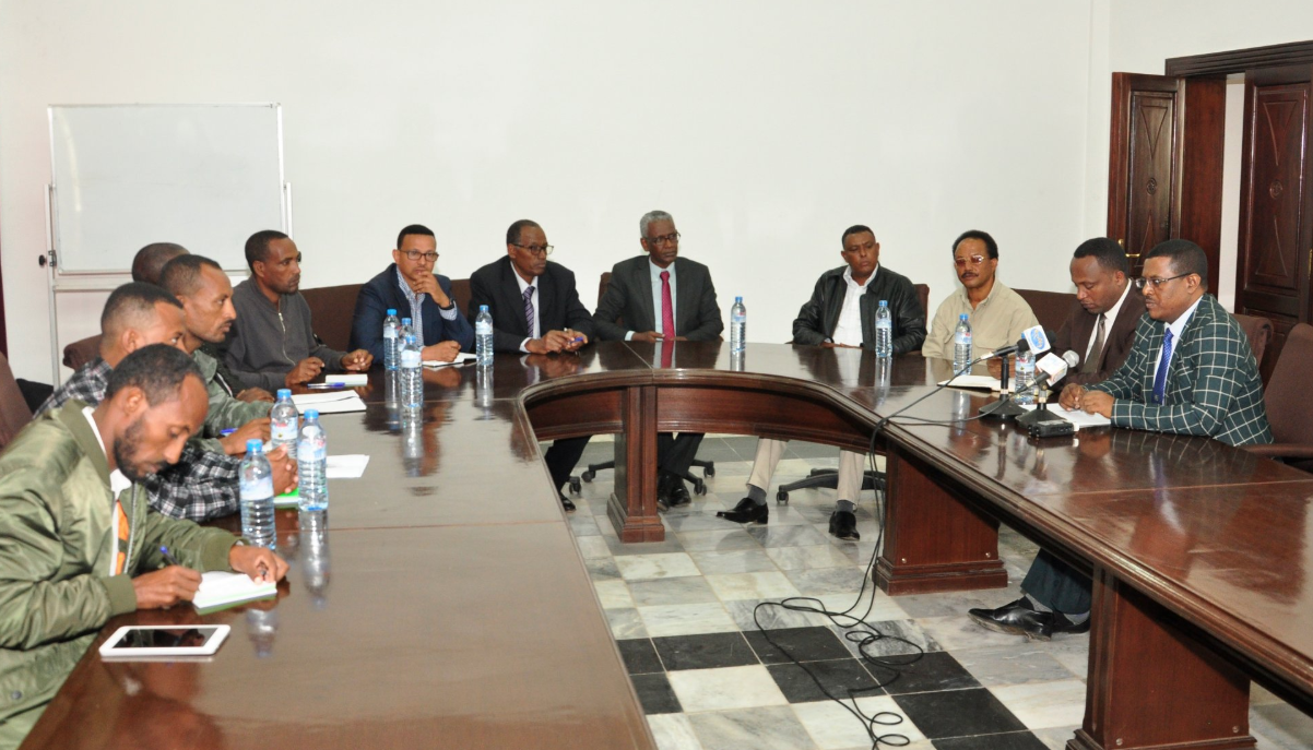 Representatives of the Amhara Region and the Amhara Democratic Forces Movement, (ADFM), signed a Reconciliation Agreement