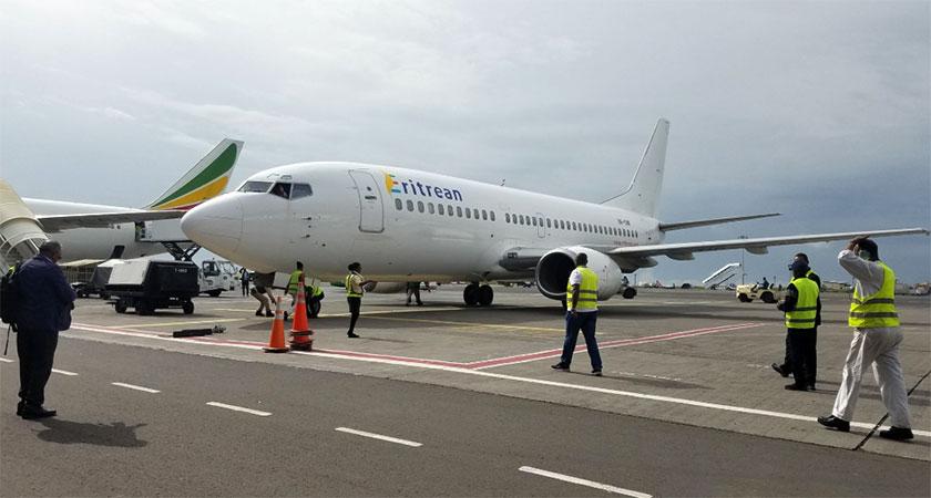 Eritrean Airlines BeginsFlight to Addis Ababa