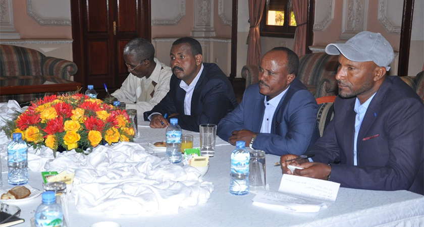 TPDM and Ethiopians government signed peace deal in Asmara