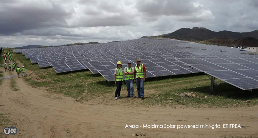 Eritrea to Power 40,000 Rural Community Members with Hybrid Solar Systems