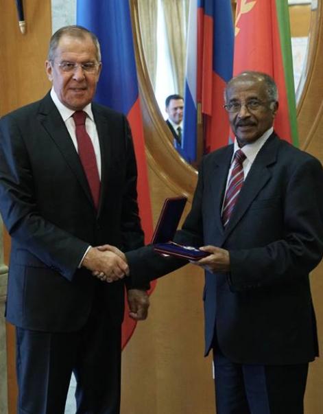 Osman Saleh and Lavrov