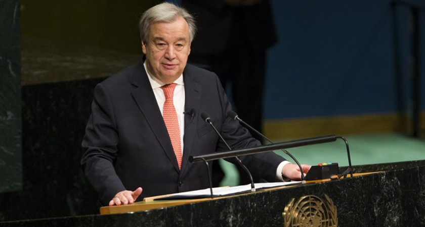"""UN to support the wind of hope in Africa"" - U.N. Secretary-General Antonio Guterres"