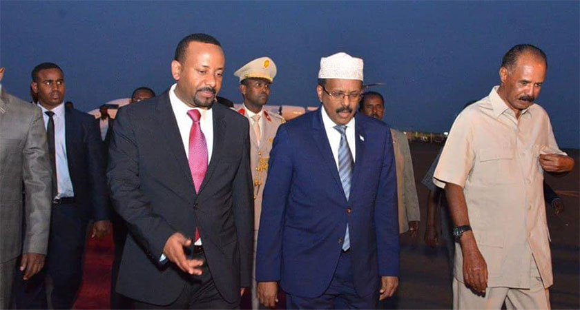 Somalia, Ethiopia and Eritrea leaders