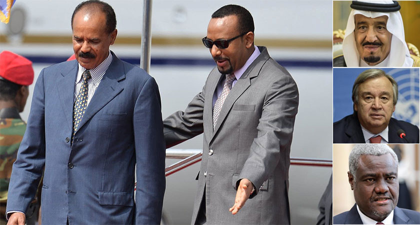 Eritrea, Ethiopia to Hold Peace Summit in Saudi Arabia