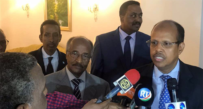 Eritrea and Djibouti have agreed to normalize ties