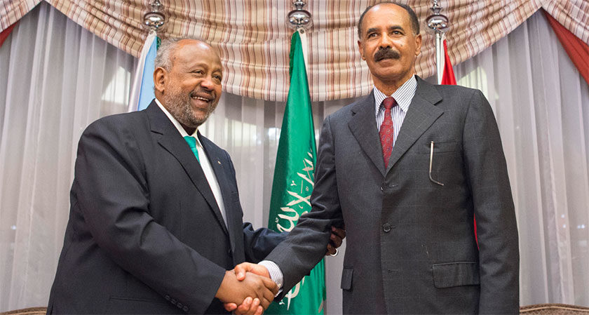 Saudi Arabia Helped Us Open a New Page with Eritrea: Djibouti President: