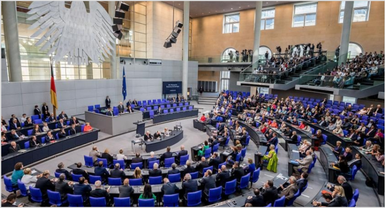 Recent distorted speech made by German Foreign Minister to the Bundestag was the peace process