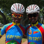 <Eritreans Celebrate their Passion for Cycling in Buenos Aires