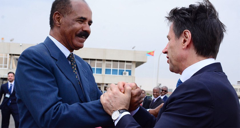 'President Isaias, PM Conte Meeting is of Great Significance to Eritrea and Italy': Advisor
