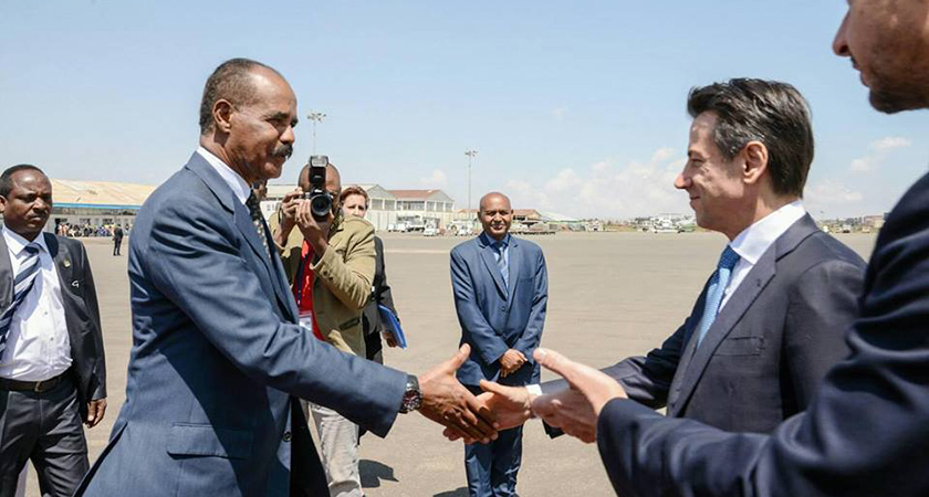Conte in East Africa and Hysteria of Certain Groups Whose Interests are Affected