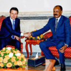 <Italian Prime Minister Conducts Official Visit to Asmara