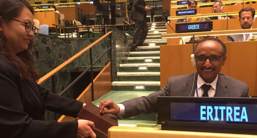 Eritrea elected UN Human Rights Council member