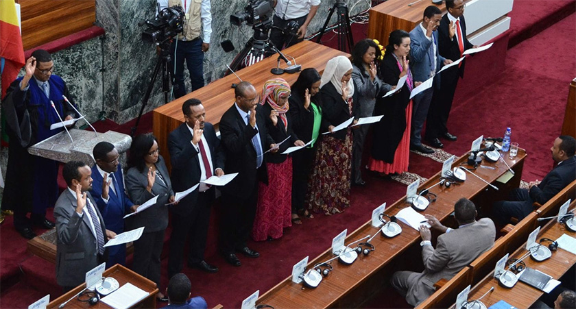 PM Abiy Ahmed announced a new cabinet that is half female