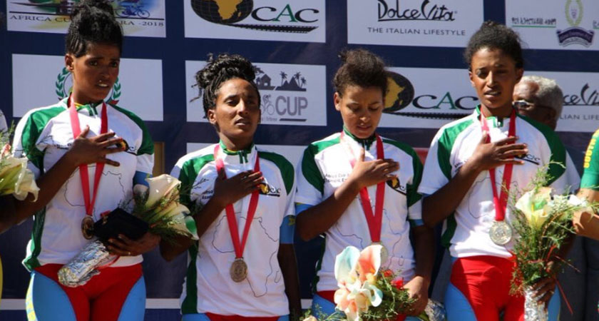 Eritrea's female athletes demonstrate courage