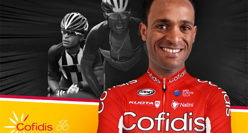 Natnael Berhane Joins Cofidis Replacing Daniel Teklehaimanot