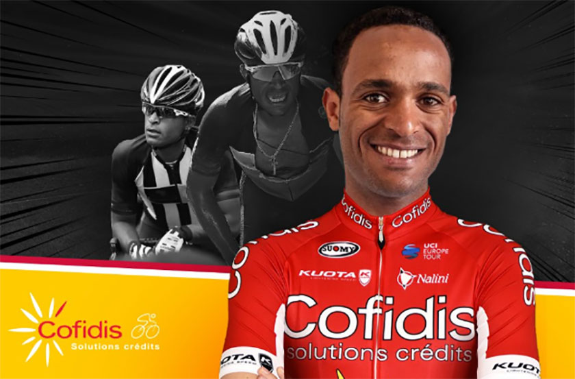 Cofidis have signed Eritrean WorldTour rider Natnael Berhane from Dimension Data for the 2019 season