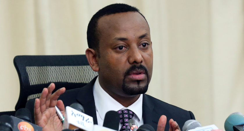 Is Prime Minister Abiy in charge as a leader?
