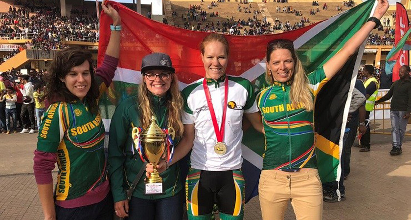 South African Rider Praises Eritrea's Commitment to Cycling at Africa Cup