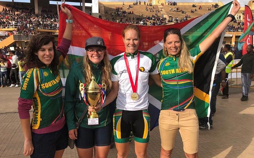 South Africa's Maroesjka Matthee won the Elite Women Africa Cup road race in Eritrea