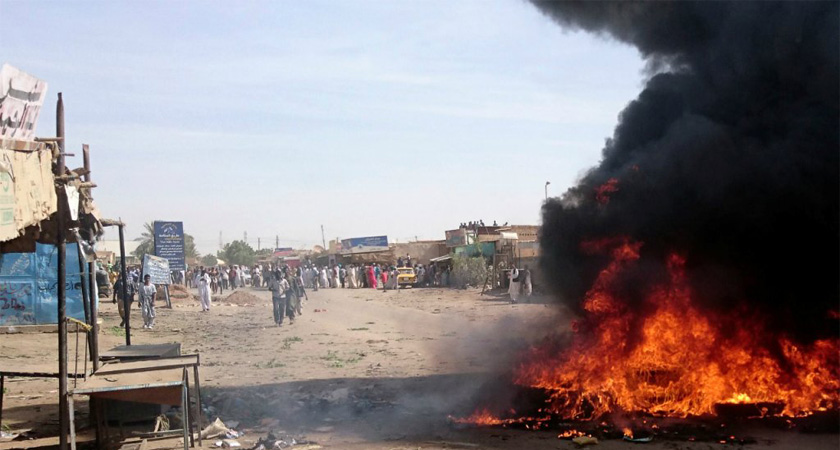 Anti-government rallies present significant challenge to President Omar al-Bashir