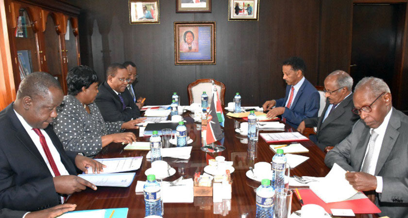 Senior Eritrean Delegation on Working Visit to Kenya